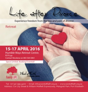 Divorce Care Retreat 2016 FB & Website FINAL
