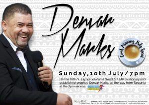 Pastor Denvar 10 July