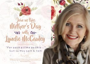 Mother's Day with Lyndie McCauley 5pm & 7pm