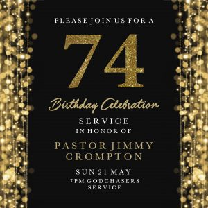 74th Birthday Celebration