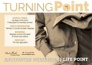Men's Turning Point Encounter Weekend
