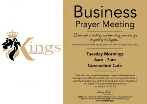 Business Prayer Meeting @ Connection Cafe