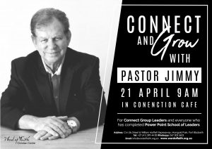 Connect & Grow with Pastor Jimmy