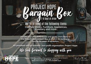 Project Hope Bargain Box