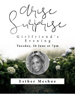 Girlfriend's Evening with Esther Meshoe