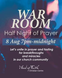 War Room Half Night of Prayer