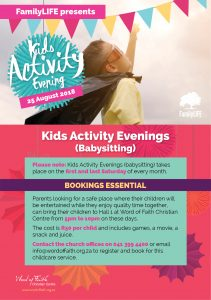Kids Activity Evening