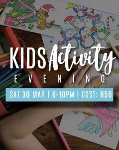 Kids Activity Evening (Babysitting)